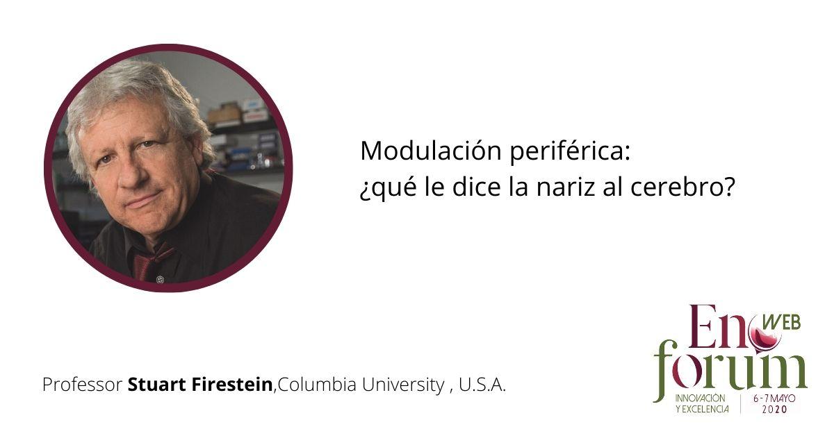 Stuart Firestein (USA), invited speaker
